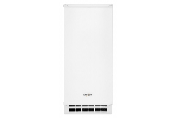 """Large image of Whirlpool  15"""" White Clear Ice Maker - WUI75X15HW"""