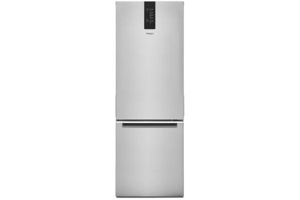 "Large image of Whirlpool 24"" Fingerprint Resistant Bottom-Freezer Refrigerator - WRB543CMJZ"
