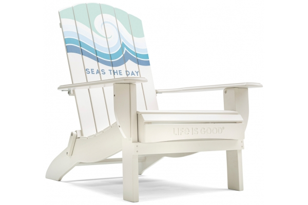 Large image of Winston Furniture Life Is Good Seas The Day Cream Adirondack Chair - LIGC7-W