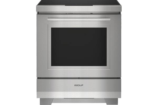 """Large image of Wolf 30"""" Stainless Steel Transitional Induction Range - IR30450ST"""
