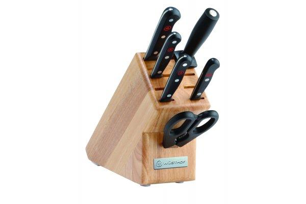 Large image of Wusthof Gourmet 7 Piece Starter Block Set - 1095070702