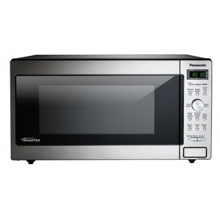 Abt Panasonic Stainless 1 6 Cu Ft Countertop Microwave Oven