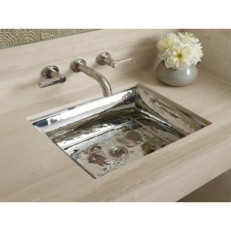 Abt - Kallista Bacifiore Polished Distressed Kitchen Sink L20308-00 ...