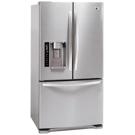 Abt Lg 247 Cu Ft Stainless Steel French Door Bottom Freezer