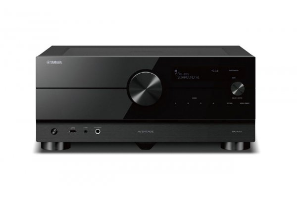 Large image of Yamaha AVENTAGE 7.2 Channel AV Receiver With 8K HDMI & MusicCast - RX-A4ABL