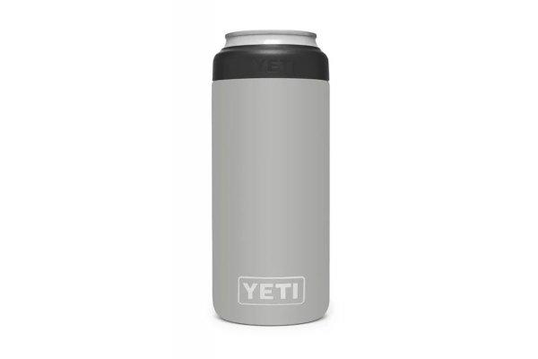 Large image of YETI Granite Gray 12 Oz Colster Slim Can Insulator - 21071500470