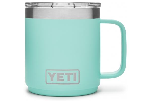 Large image of YETI Rambler 10 oz Seafoam Stackable Mug with MagSlider Lid - 21071500575