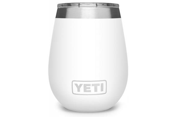 Large image of YETI Rambler 10 oz White Wine Tumbler with MagSlider Lid - 21071500586