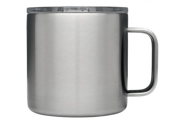 Large image of YETI Rambler 14 Oz Mug In Stainless Steel - 28000000548