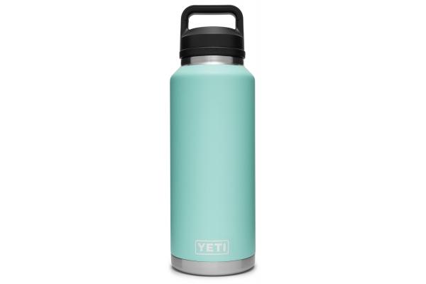 Large image of YETI Rambler 46 oz Seafoam Bottle with Chug Cap - 21071210001