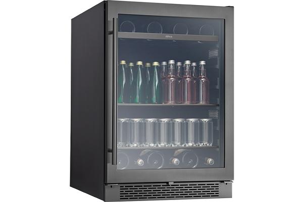 """Large image of Zephyr Presrv 24"""" Black Stainless Single Zone Beverage Cooler - PRB24C01BBSG"""