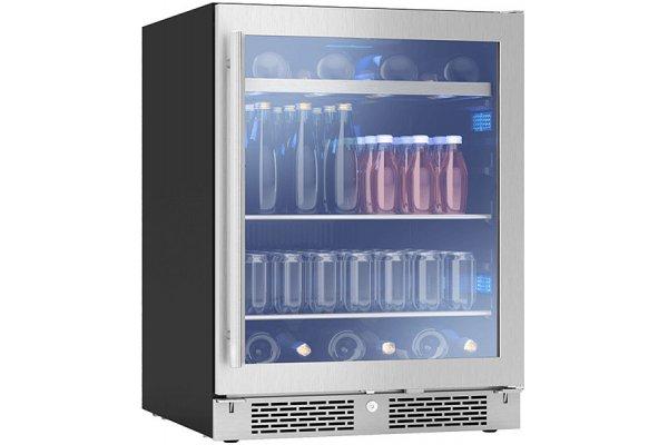 """Large image of Zephyr Presrv 24"""" Stainless Frame ADA Single Zone Beverage Cooler - PRB24C01AG-ADA"""