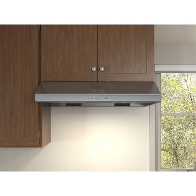 """Zephyr Cyclone 42"""" Stainless Steel Under-Cabinet Wall Hood"""