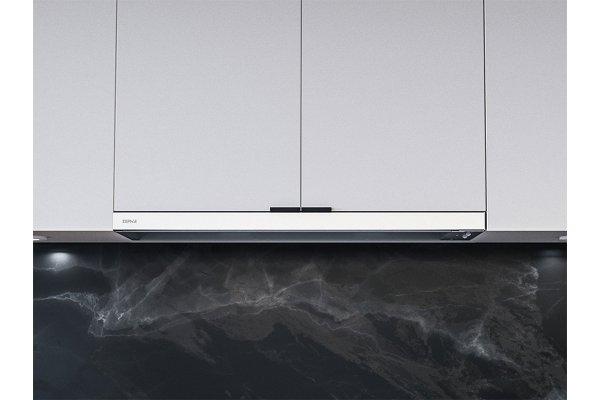 "Large image of Zephyr Pisa 30"" White Under-Cabinet Hood - ZPIE30BW290"