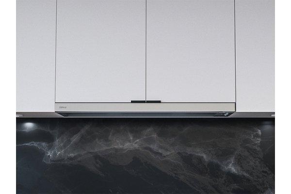 "Large image of Zephyr Pisa 36"" Stainless Steel Under-Cabinet Wall Hood - ZPIE36BG"