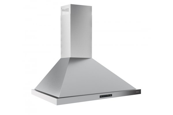 """Large image of Zephyr Ombra 30"""" Stainless Steel Wall Hood - ZOME30BSBAF"""