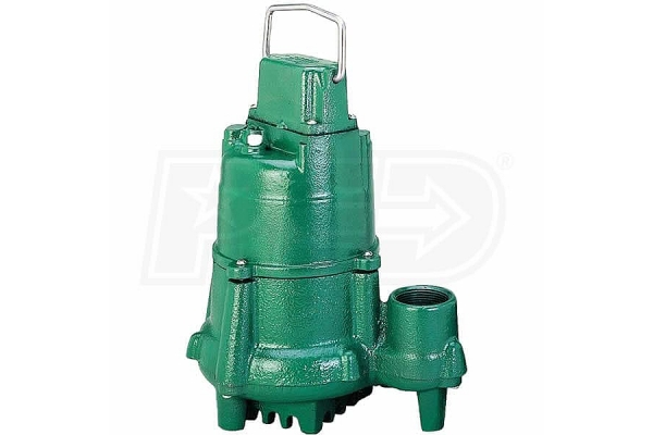 "Large image of Zoeller 1/2 HP 1-1/2"" Submersible Sump Pump - N98"