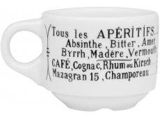 Pillivuyt Coffee Mugs & Espresso Cups
