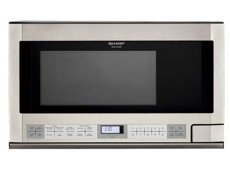 Sharp Over The Counter Microwaves