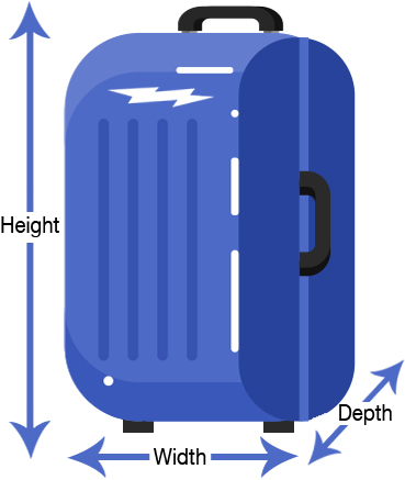 How to measure your luggage
