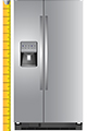 Refrigerator Measuring Buying Guide