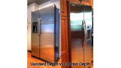 Counter Depth Vs Standard Depth