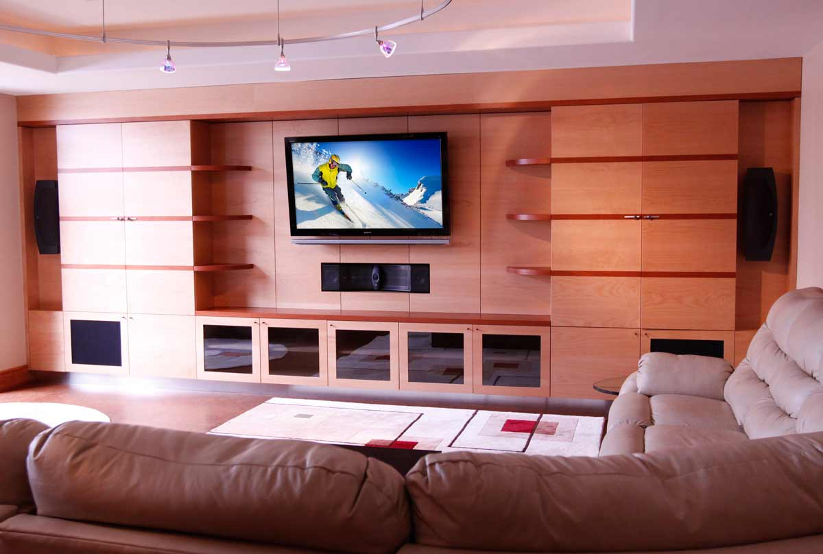 Abt Custom Audio Video Wiring A Home Theater Projection Tv Televisions