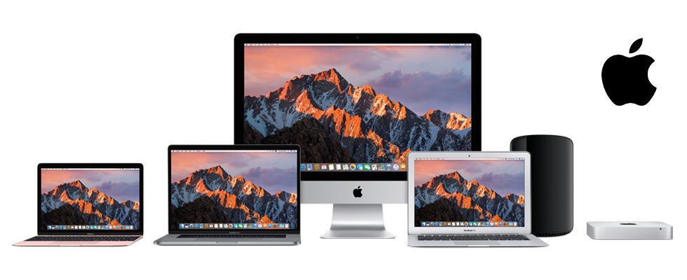 Apple MacBook, Apple MacBook Air, and Apple MacBook Pro