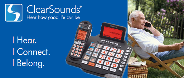 ClearSounds amplified phone