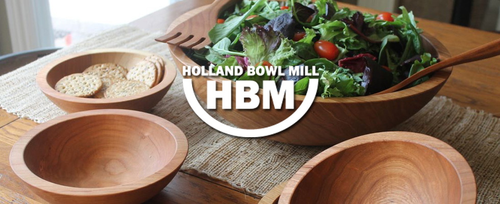 Holland Bowl Mill Wooden Bowls at Abt