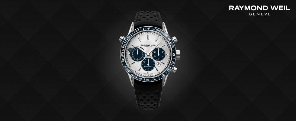 Raymond Weil Luxury Swiss Watches - Freelancer Watch