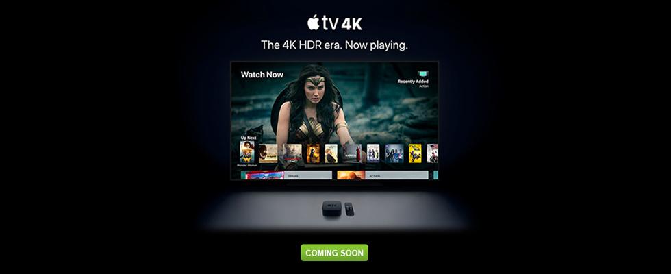 Apple TV 4K - Coming Soon