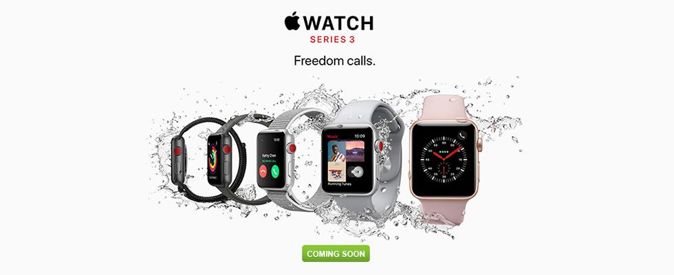 Apple Watch Series 3 - Coming Soon