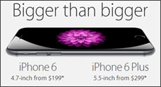 iPhone 6 and iPhone 6 Plus Available for Pre-order at Abt.