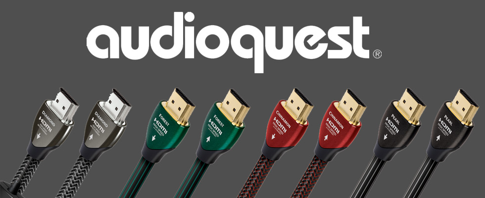 Audioquest speaker cables, speaker wire, and video cables
