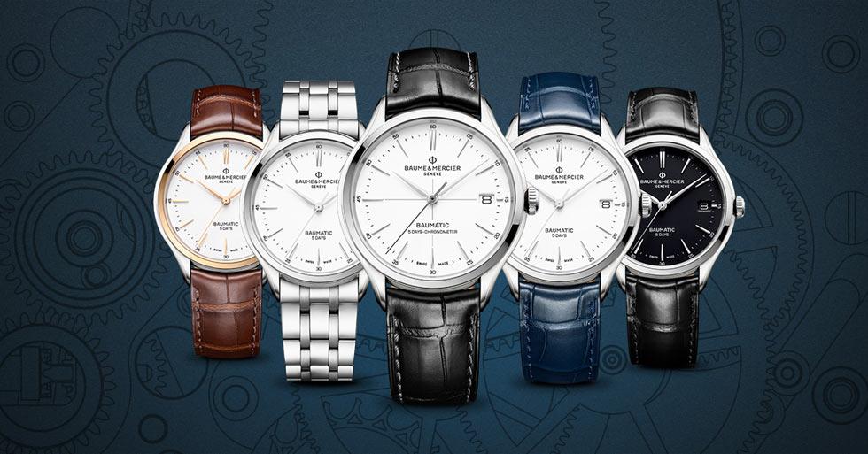 Baume & Mercier Luxury Swiss Watches