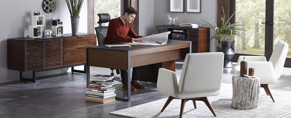 BDI Corridor Office Furniture - Desk, Storage, File Cabinet, Credenza