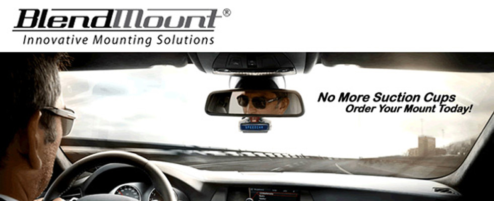 Blendmount Custom Radar Detector Mounts