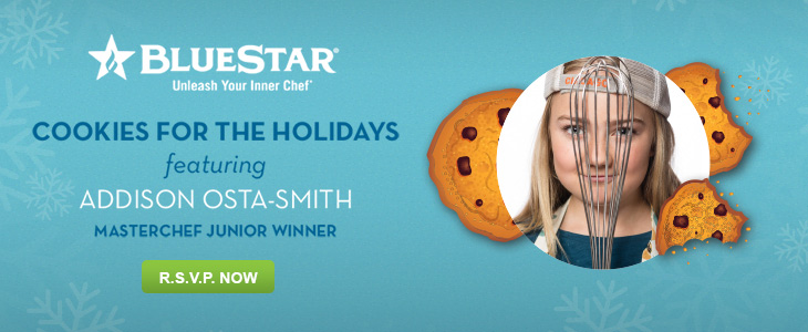 BlueStar Holiday Cookie Event