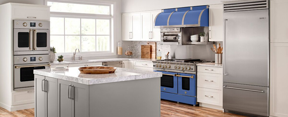 BlueStar Refrigerators, Ranges, and Wall Ovens at Abt