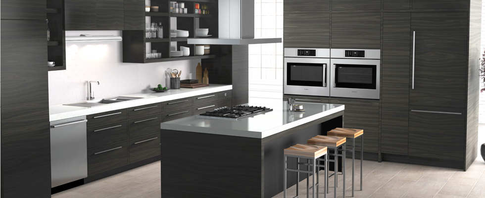 delightful Bosch Kitchen Appliances Packages #2: ... Bosch Benchmark Loft Kitchen ...