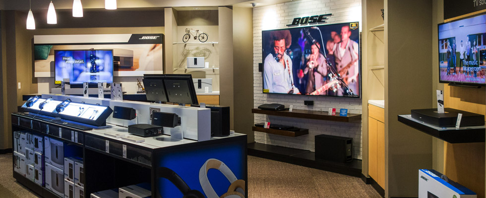 Bose Audio Store At Abt