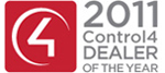2011 Control4 Dealer of the Year