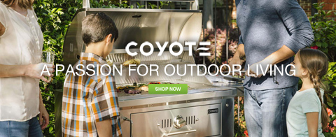 Coyote - A passion for outdoor living