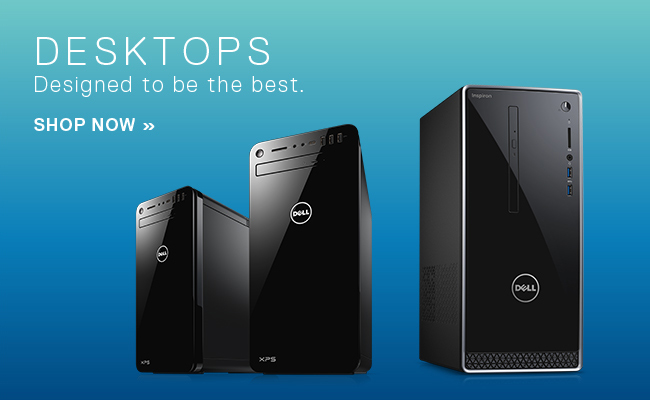 Dell - Desktops - Designed to be the best. Shop Now