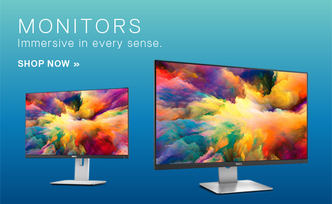 Dell - Monitors - Immersive in every sense. Shop Now