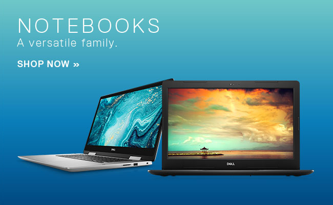 Dell - Notebooks - A versatile family. Shop Now