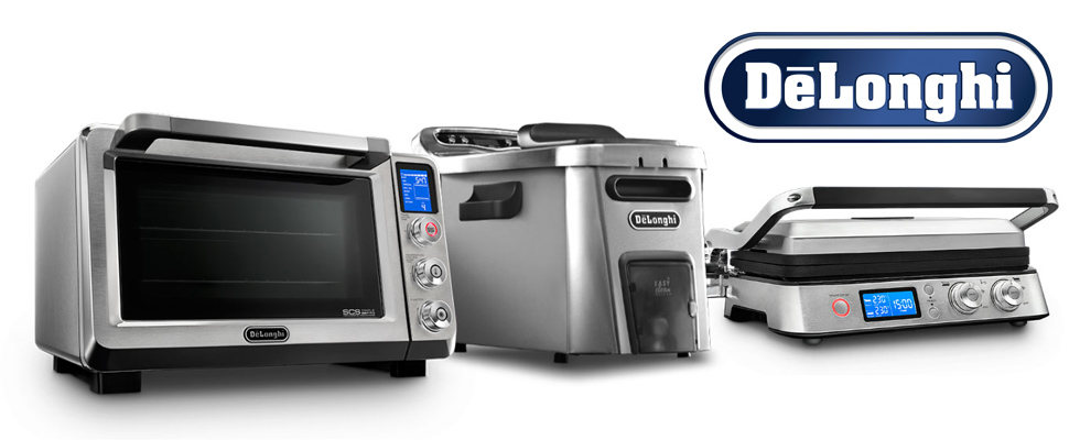 De'Longhi Coffee & Espresso Machines, Deep Fryers, Toaster Ovens and More at Abt