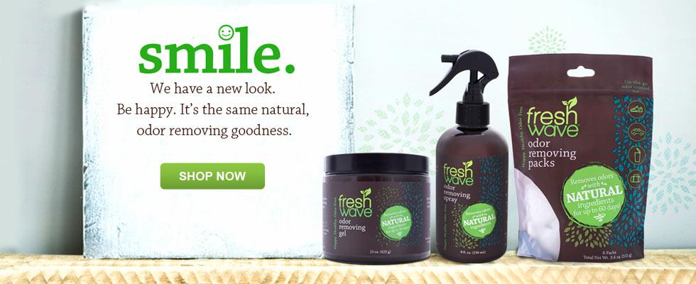 Fresh Wave Odor Eliminators - New Look, same natural odor removing goodness