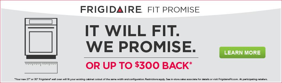 Frigidaire It Will Fit Program